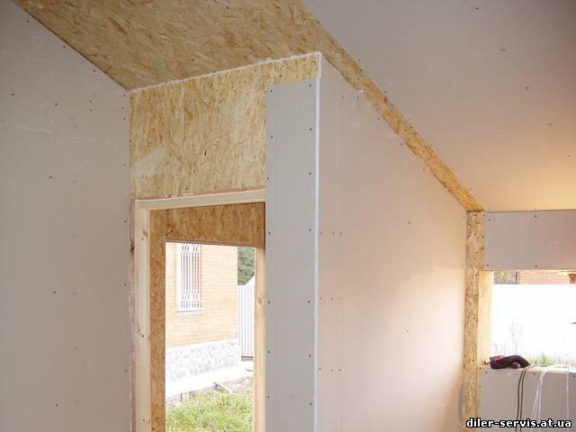 акт можно ли обшить стены внутри дома осб предприятия